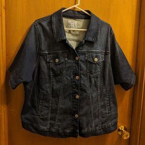 Torrid Short Sleeve Jean Jacket Size 3x